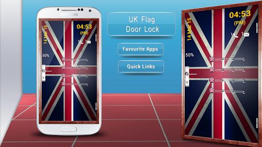 UK Flag Door Lock