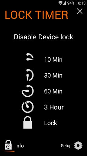 Lock Timer