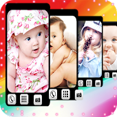 Cute Kids Live Wallpaper