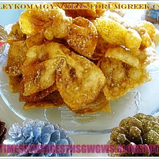 CRISPY and DELICIOUS PASTRIES (DIPLES) Recipe