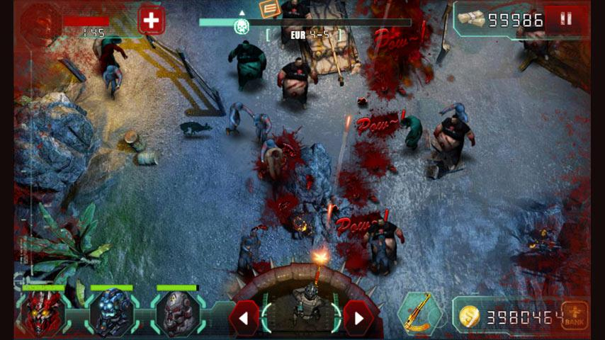 Screenshots of Zombie World War for iPhone
