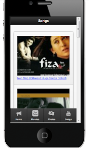 Bollywood Movies, Songs & News - screenshot thumbnail