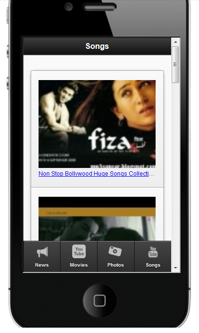 Bollywood Movies, Songs & News - screenshot
