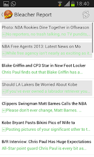 Basketball News- screenshot thumbnail