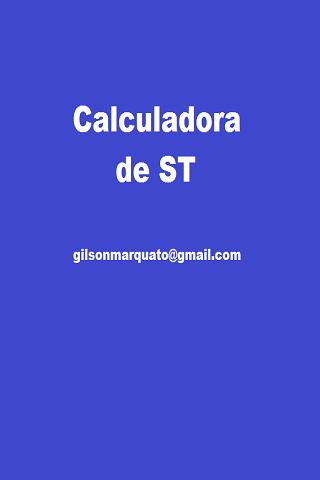 Calculadora de ST