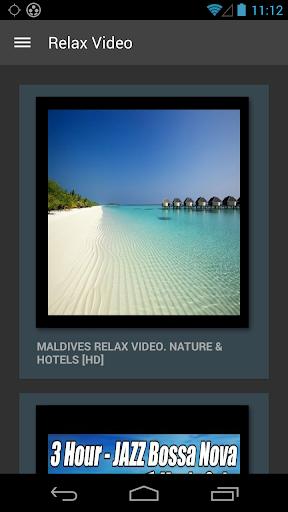 【免費娛樂App】Relax Music Video-APP點子