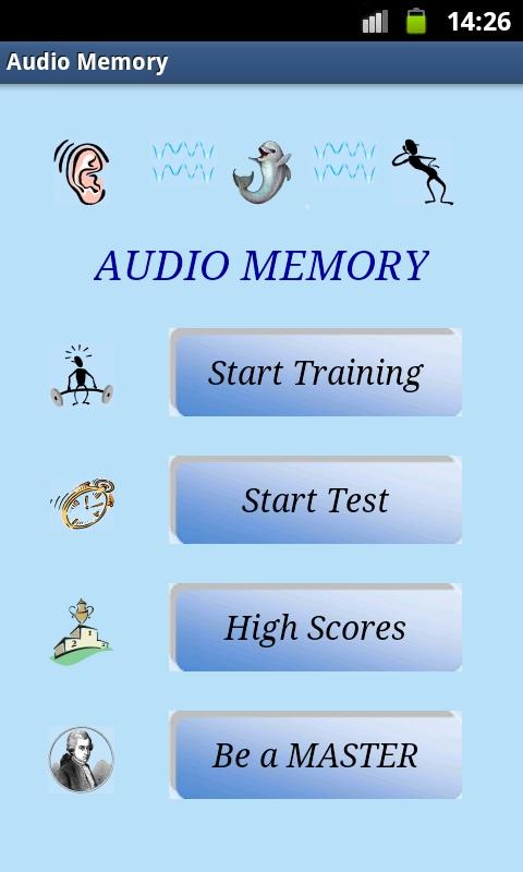Audio Memory MASTER- screenshot