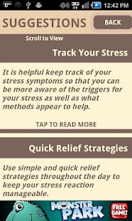 Stress Test and CBT Self-Help - screenshot thumbnail