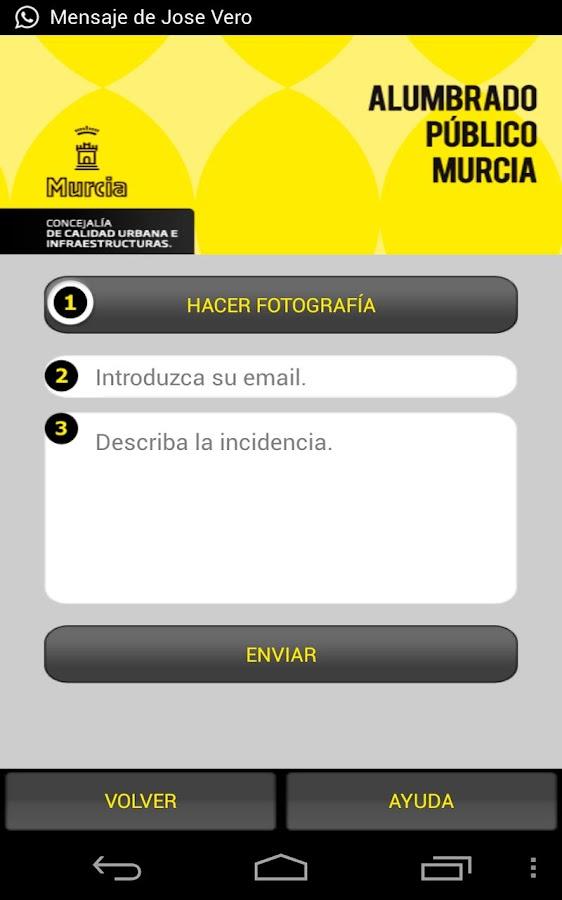 Alumbrado Público Murcia- screenshot