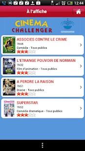 Cinéma Challenger- screenshot thumbnail