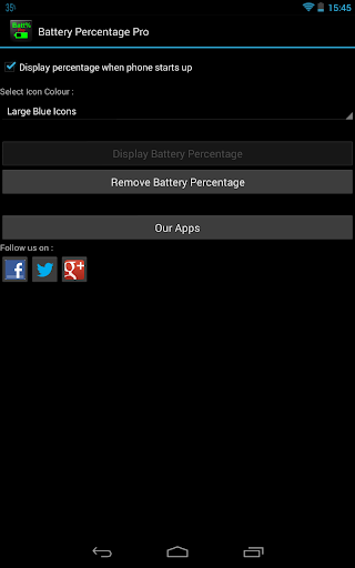 玩免費工具APP|下載バッテリーのパーセントのプロ app不用錢|硬是要APP
