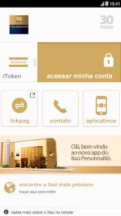 Itaú Personnalité- screenshot thumbnail