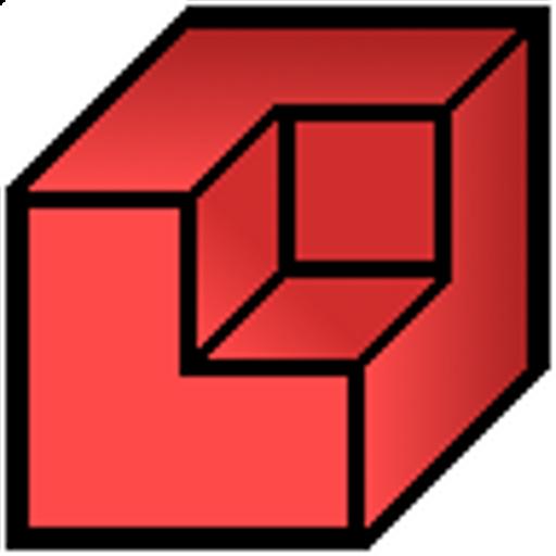 Qubism 3D modeling LOGO-APP點子