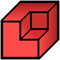 Qubism 3D modeling icon