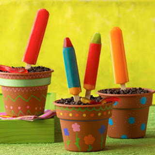 Blooming Ice Pop Parfaits