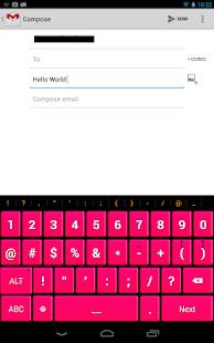 Pink Keyboard- screenshot thumbnail