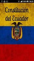 Screenshot of Constitución del Ecuador