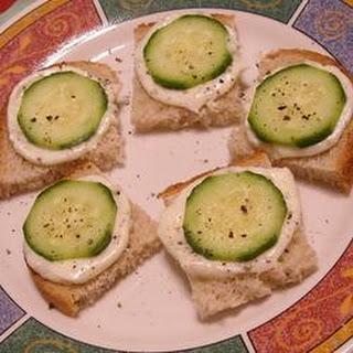 Italian Cucumber Sandwiches