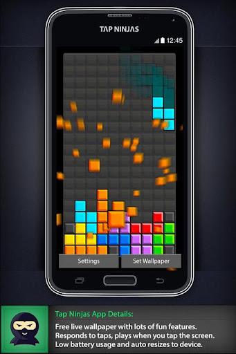 Game Blocks Drop LWP
