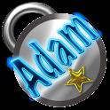 Adam Name Tag logo