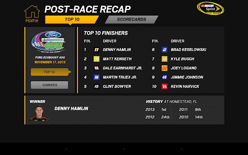 NASCAR RACEVIEW MOBILE Screenshot 31