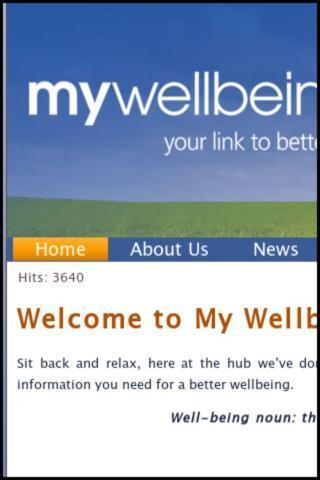 My Wellbeing Hub