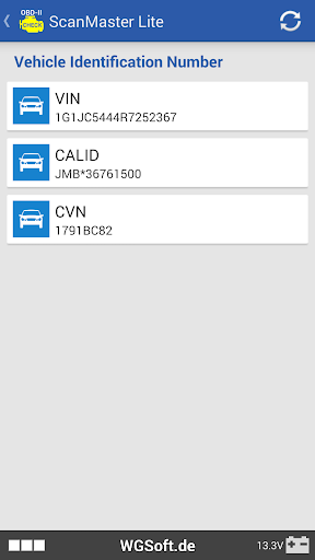 ScanMaster for ELM327 OBD-2 ScanTool  screenshots 2