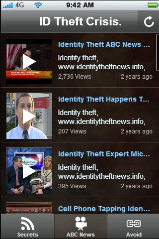 ID Theft Crisis. - screenshot