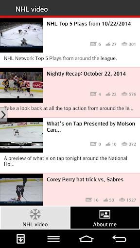 NHL video