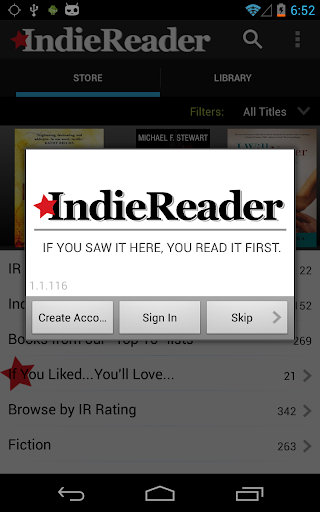 The IndieReader Bookstore