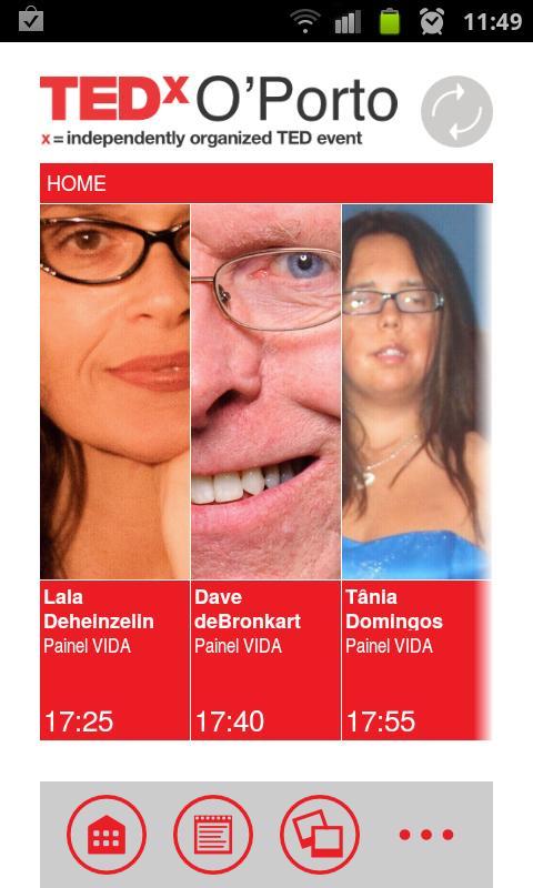 TEDx O'Porto- screenshot