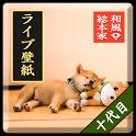 和風総本家/十代目豆助(冒険)ライブ壁紙 icon