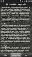Screenshot of Moose Hunting Calls