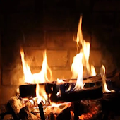 Real Fire place Live Wallpaper