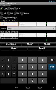 Handyman Calculator Screenshot