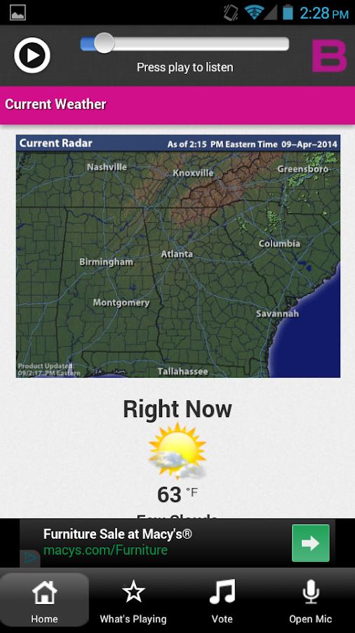 B98.5 Atlanta - screenshot