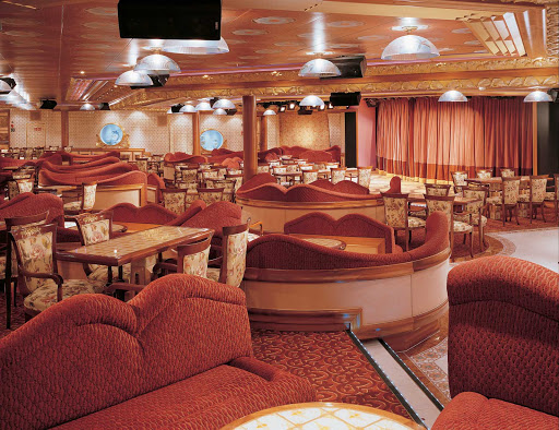 Carnival-Liberty-Victoria-Lounge - Plan an evening of live music, karaoke and late-night comedy shows at Carnival Liberty's Victoria Lounge.