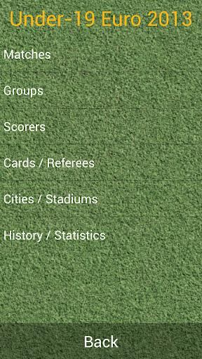 U-19欧州選手権リトアニア2013
