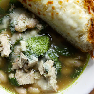 Chicken Pesto Soup