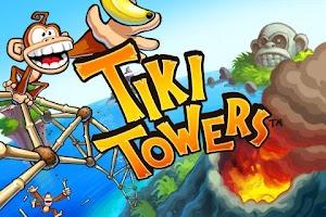 Screenshot of Tiki Towers