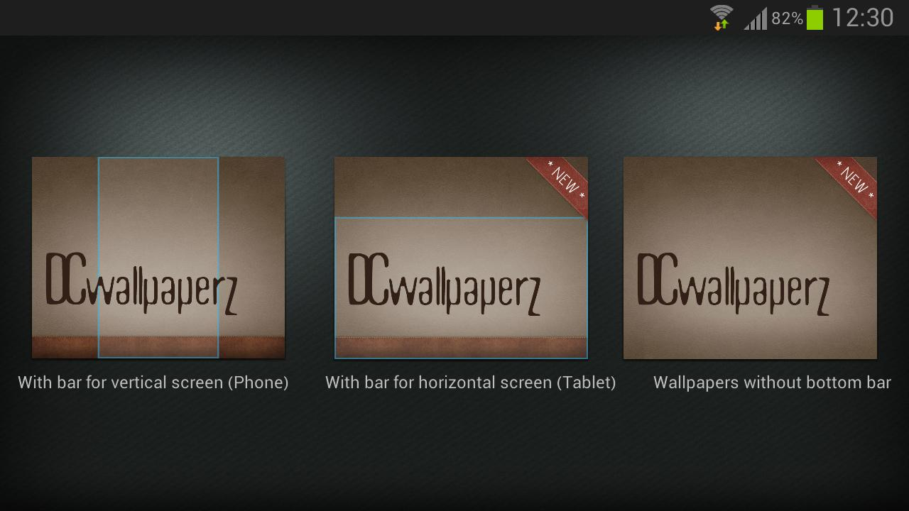 DCwallpaperZ- screenshot