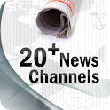 20+ News Channels logo