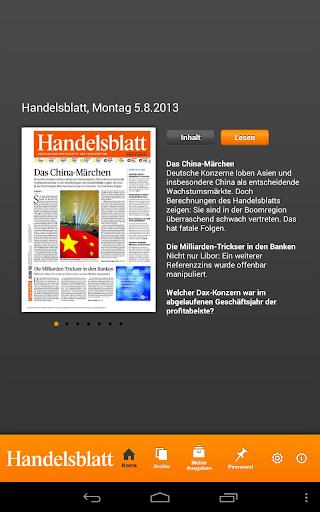 Handelsblatt ePaper