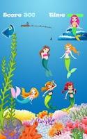 Screenshot of Fishing the Mermaids Kids Game