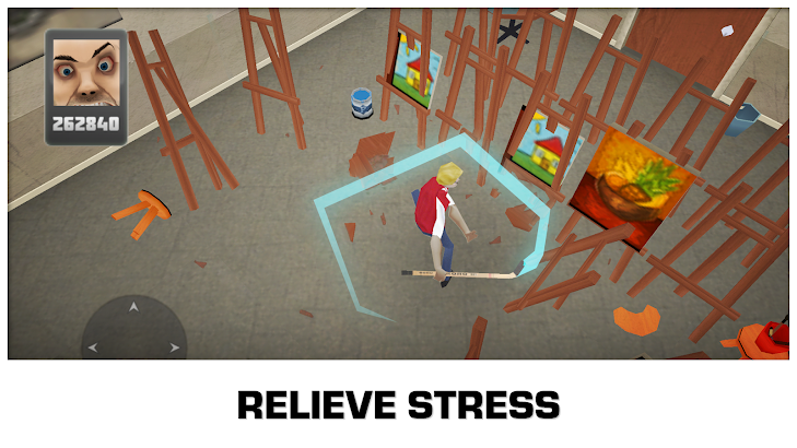 Smash the School - Stress Fix! screenshot