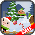 Santa Elf Winter Snow Fight icon
