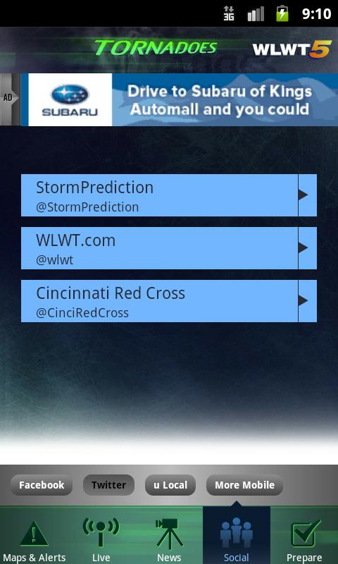 Tornadoes WLWT 5 Cincinnati - screenshot