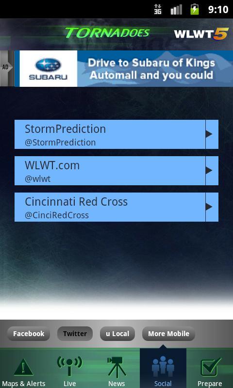 Tornadoes WLWT 5 Cincinnati - screenshot