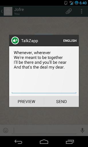 TalkZapp