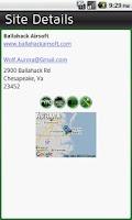 Screenshot of Airbana Airsoft Map